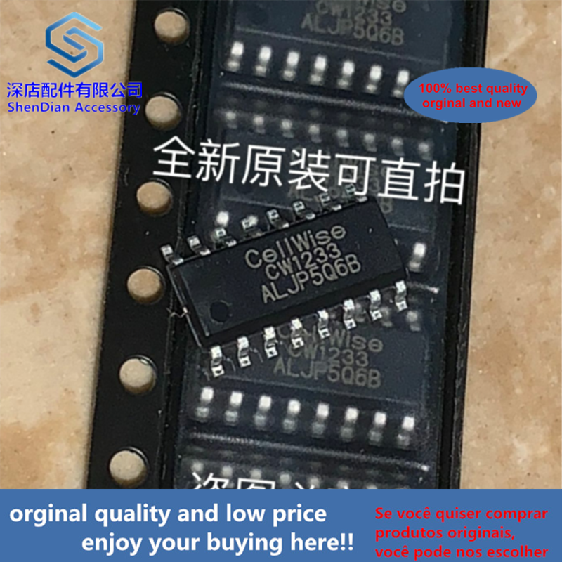 10pcs 100% Orginal And New CW1233ALJP Cellwise SOP16 CW1233 SOP   Best Qualtiy