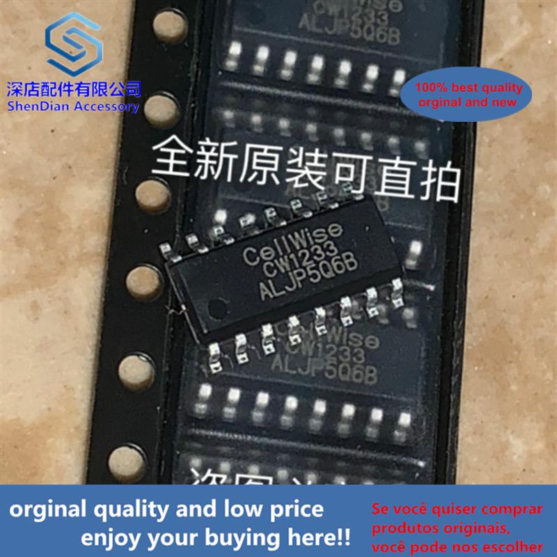 10pcs 100% Orginal And New CW1233ALJP Cellwise SOP16 CW1233 SOP   Best Qualtiy