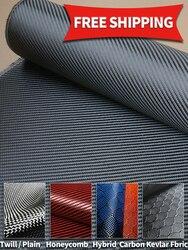 Высококачественная ткань из углеродного волокна 3K 200/220/г/м2 саржевая простая ткань 12K UD сотовая гибридная углеродная кевларовая ткань