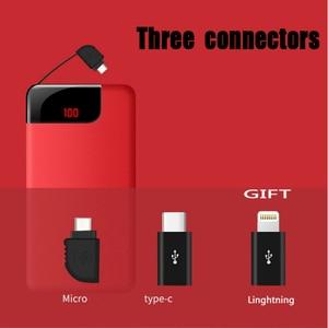 Image 5 - 10000mah batterie externe batterie externe appauvrbank 2 USB Powerbank Portable chargeur de téléphone Portable pour