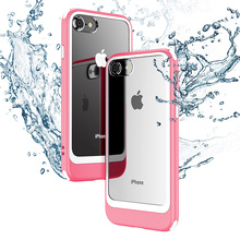For Apple iphone 7Plus Mobile phone cases shock drop transparent double color PC for Iphone7 8 8Plus XR X XSMAX Luxury