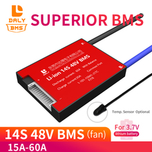18650 14S 15A 20A 30A 40A 50A 60A  Lithium Polymer Battery 3.7v Pack  48V  PCB Balance  Ebike E-Scooter  Temperature