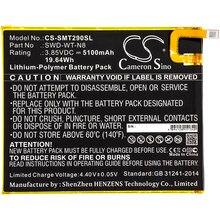Cameron Sino-Batería de SWD-WT-N8 para Samsung Galaxy Tab A 8,0, 2019, SM-T290, SM-T295, SM-T295N, 5100mAh
