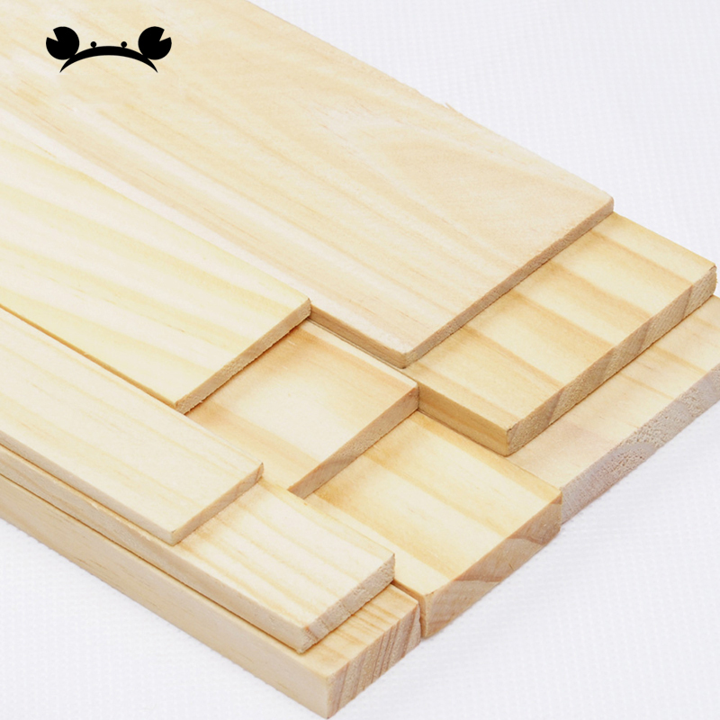 5pcs Pine Board DIY Board Architecture Model Making Sand Table Board Pine Wooden Box Making