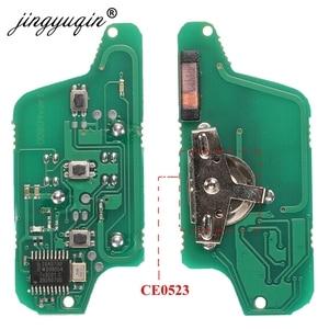 Image 3 - Jingyuqin для peugeot 407 407 307 308 607 Citroen C2 C3 C4 C5 ASK/FSK дистанционный ключ электронная плата 3 кнопки CE0523 Ce0536