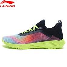 Li-ning homem super leve xvii tênis de corrida almofada de espuma leve forro respirável durável li ning sapatos esportivos arbq003