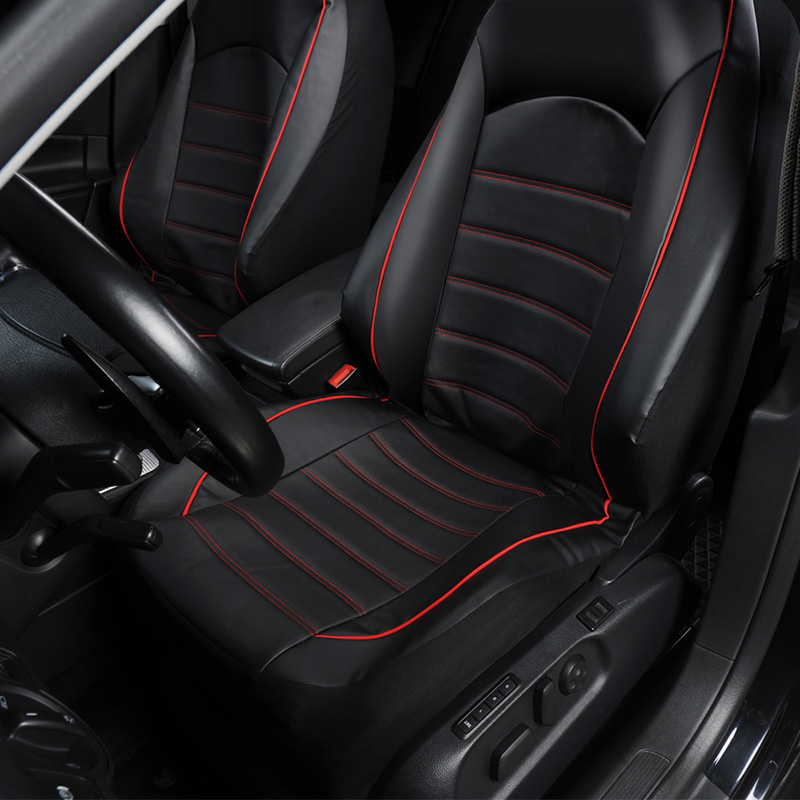 Image 3 - AUTOYOUTH Front Car Seat Covers Fashion Style High Back Bucket Car Seat Cover Auto Interior Car Seat Protector 2PCS For toyota-in Automobiles Seat Covers from Automobiles & Motorcycles