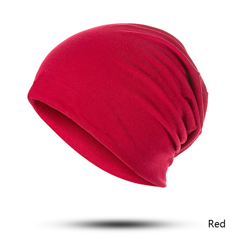 Hd5b115f1b0a64e429b059ee6a3ecdc5bJ - TRUENJOY Summer Women Men Beanies Hat Solid Color Hip-hop Snap Skullies Thin Soft Beanies Hat Cap Bonnet Gorro 23 Colors