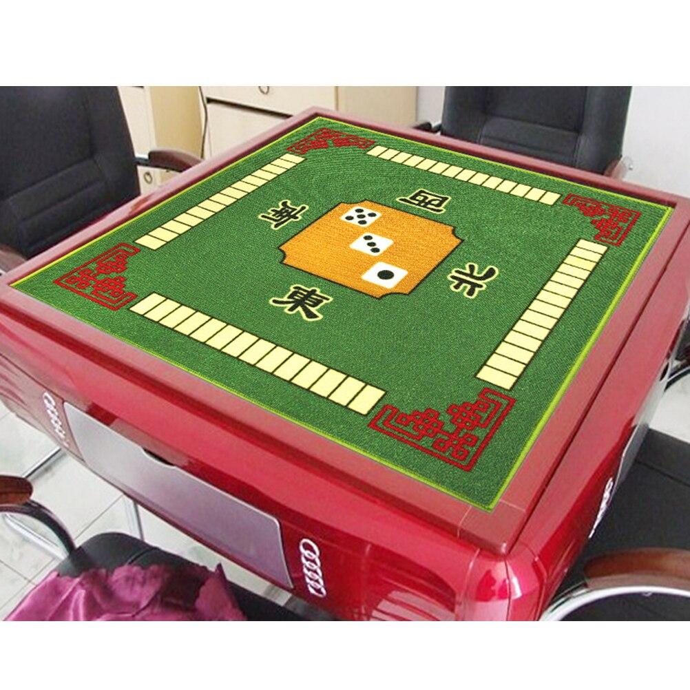 1PC Mahjong Table Cloth Square Shape Mahjong Mat Board Room Mahjong Pad Anti-Slip Desktop Cushion For Games Board Tablecloth(China)
