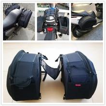 Водонепроницаемый мото хвост чемодан мотоцикл седельная сумка боковой шлем езда дорожные сумки с дождевиком