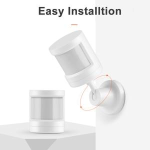 Image 3 - Tuya ZigBee Sensore PIR IFTTT Alimentato A Batteria WIFI Wireless Intelligente PIR Rivelatore di Movimento del Sensore di Allarme Domestico Sistema di ZigBee Sensore PIR