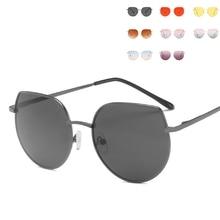 Новые детские солнцезащитные очки кошачий глаз для мальчиков и девочек, модные солнцезащитные очки с защитой от ультрафиолета, детские очки с градиентными линзами UV400