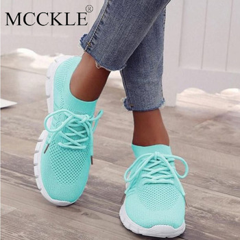 Women Sneakers Slip On Mesh Light Breathable Shoes Woman Walking Platform Comfortable Casual Fashion Female Lace Up Non Slip New cozulma women candy color breathable canvas shoes lace up fashion sneakers female non slip casual shoes size 35 40