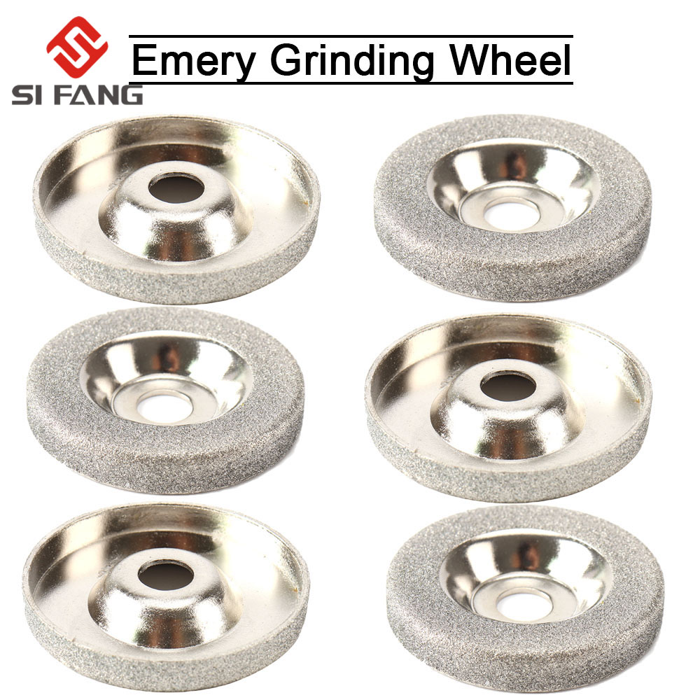 2-10Pcs 50mm Diamond Grinding Wheel Cup Circle Grinder Stone Cutting Rotary Tool For Quick Removal Or Trimming