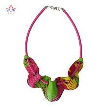2020 африканские ткани батик ожерелье Анкары ручной работы Многоцветный