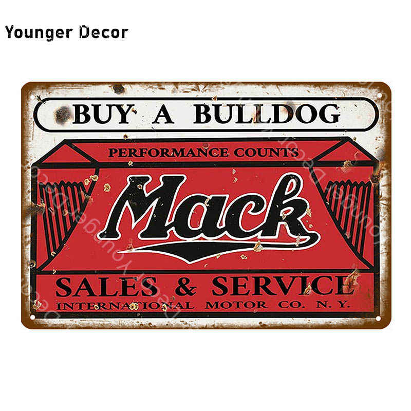 Klasik motorlar kamyonlar otobüs satış Vintage Poster Metal işaretleri dekoratif duvar çıkartmaları Pub Bar garaj dekor YI-169