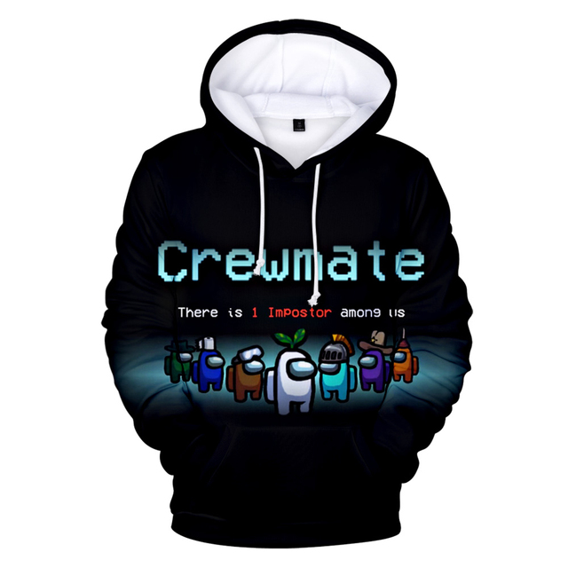 AMONG US THEMED 3D HOODIE (7 VARIAN)