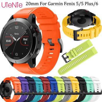 22MM Quick Release Strap For Garmin Fenix 5 Watch Silicone Wrist Band Plus 6 Watchband