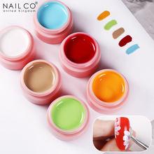 NAILCO 73 Colors UV LED Nail Art Gel Polish Nude Series Color Soak Off Lacquers Nail Art Drawing Gel Nail Painting Gel Polishes