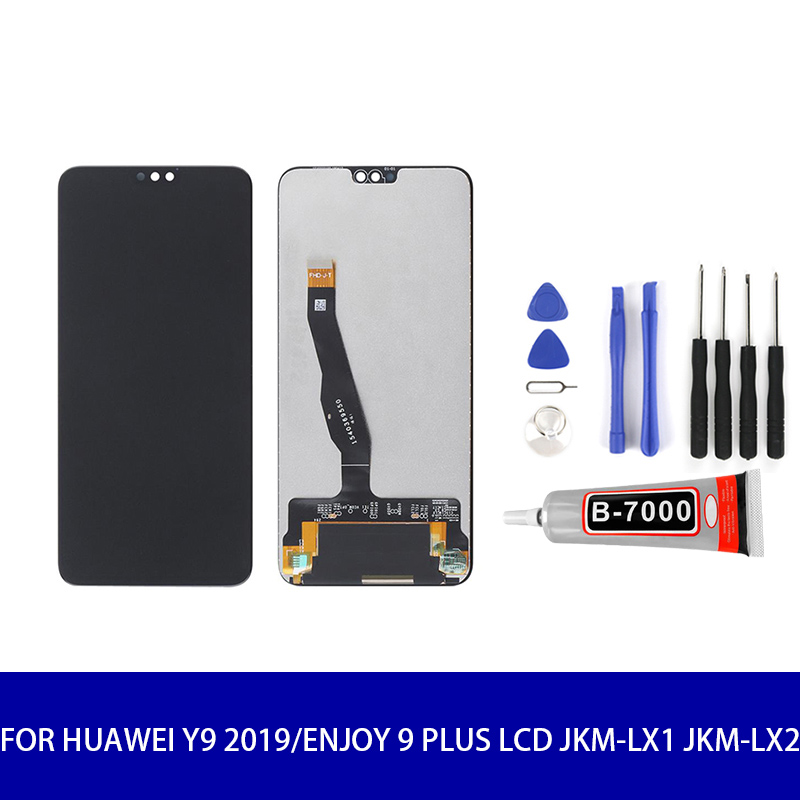 Original Quality LCD For Huawei Y9 2019/Enjoy 9 Plus LCD  JKM-LX1 JKM-LX2 LCD Display Touch Screen Panel Digitizer Assembly