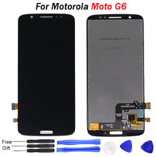 "For Motorola Moto G6 LCD Display Touch Screen digitizer Assembly XT1925 Replacement 5.7""or"