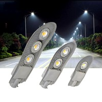 1pc 150W 100W 50W 30W Led Street Light Waterproof Area Parking Lot Yard Barn Outdoor Wall Lamp AC85-265V