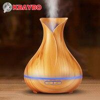 KBAYBO 400ml dyfuzor olejków eterycznych ziarno drewna ultradźwiękowy zapachowy nawilżacz powietrza do biura sypialnia pokój dziecięcy studium joga Spa w Nawilżacze powietrza od AGD na