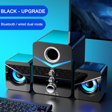 Stereo Subwoofer Computer-Speaker Sound-Box Laptop Phones Home-Theater-System Bluetooth
