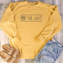 Be The Light T-shirt Christian Graphic Tee Gift For Women Faith TShirts Trend Girls Tops Fashion T shirt People With