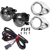 Clear Lens Driving Fog Lights Bumper Lamps Bulbs Harness Bracket for Ford Focus S SE SEL 2012 2014 with Harness