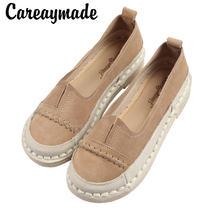 Careaymade Лидер продаж в стиле «mori girl» ретро; Обувь ручной