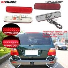 MZORANGE Rear Bumper Reflector Light For Toyota Land Cruiser/For Lexus LX470 Tai