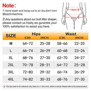 Image 4 - Burvogue Butt Lifter Shaper Women Ass Padded Panties Slimming Underwear Body Shaper Butt Enhancer Sexy Tummy Control Panties
