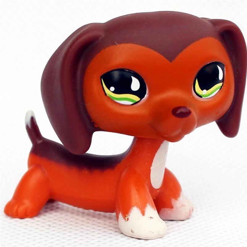 Лпс стоячки кошки игрушки Lps кошка редкие животные pet shop игрушки подставки Собака Такса колли кокер спаниель great dane Хаски старый Рисунок Коллекция - Цвет: 675