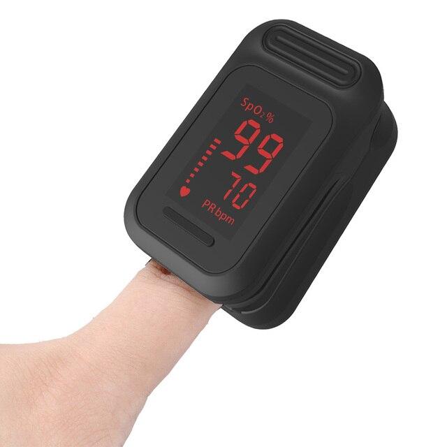 Yonker Medical Pulse Oximeter Portable Finger Pulse Oximeter LED Fingertip Oximeter Blood Oxygen Saturation Monitor 4