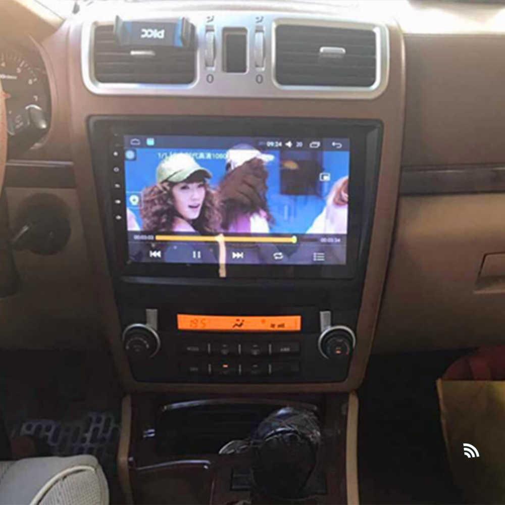 車ラジオ HAWTAI BOLIGER ヘッドユニットマルチメディアシステム GPS ナビゲーション MP5 2.5D フルタッチスクリーン wifi と/テレビ /ビデオ/Carplay