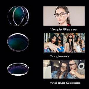Image 5 - SHAUNA lentes de resina graduadas para CR 39, lentes de decoloración para miopía, hipermetropía, óptica, sensible a la luz, 1,56