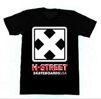 H STREET LOGO Shirt 75 Tshirt Vintage Skateboard H Street Matt Hensley Custom Printed Tshirt,Hip Hop Funny Tee,Mens Tee Shirts