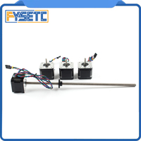 FYSETC Motor kit for Prusa Mini 3d printer designed by Prusa Research X Y Z 17 stepper motors Z motor is TR8*4 lead screws