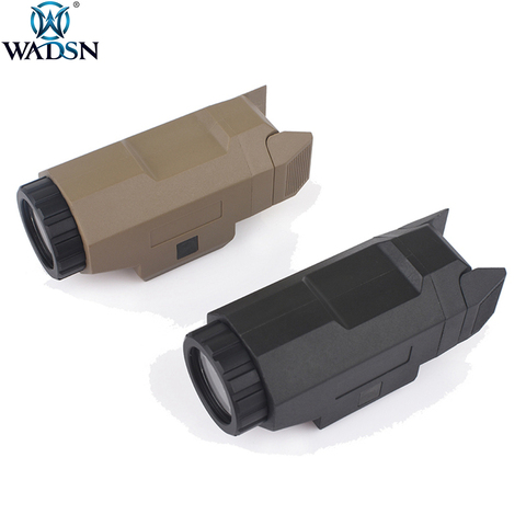wadsn airsoft tatico apl pistola de luz caca lanterna para glock17 g17 glock19 g19 arma