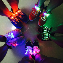1pair 120cm Fashion LED Luminous Shoelace Toys Accessories Glow In The Dark Improve Manipulative Ability Toys For Children Gift