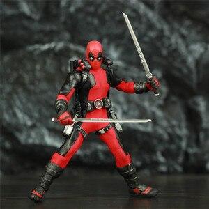 """Image 5 - One:12 Deadpool 6 """"Action Figureเสื้อผ้าผ้าชุดDead Pool Legendsสุนัข1/12 1:12ภาพยนตร์การ์ตูนของเล่นตุ๊กตา"""