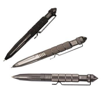 Mini edc outdppr black tactical pen glass breaker self defense aluminum emergency survival tool