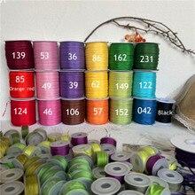 Promoção! 2mm a 13mm 100% real puro seda tecida dupla face tafetá fitas de seda para o projeto do bordado e artesanato
