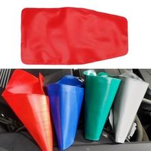 Dispositif de vidange Flexible, 1 pièce, camion, économie de carburant, essence, voiture, déflecteur dhuile, entonnoir de Drainage Flexible, Guide dhuile pliable, outil de gaz