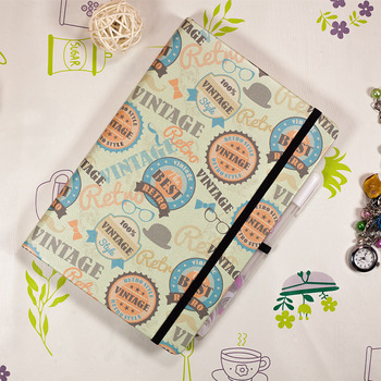 цена на Bullet Dotted Journal Dot Grid Notebook Hard Cover Retro A5 Elastic Band Travel  Bujo Planner Diary