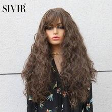 Sivir Синтетические длинные вьющиеся коричневые/Золотые/Блонд