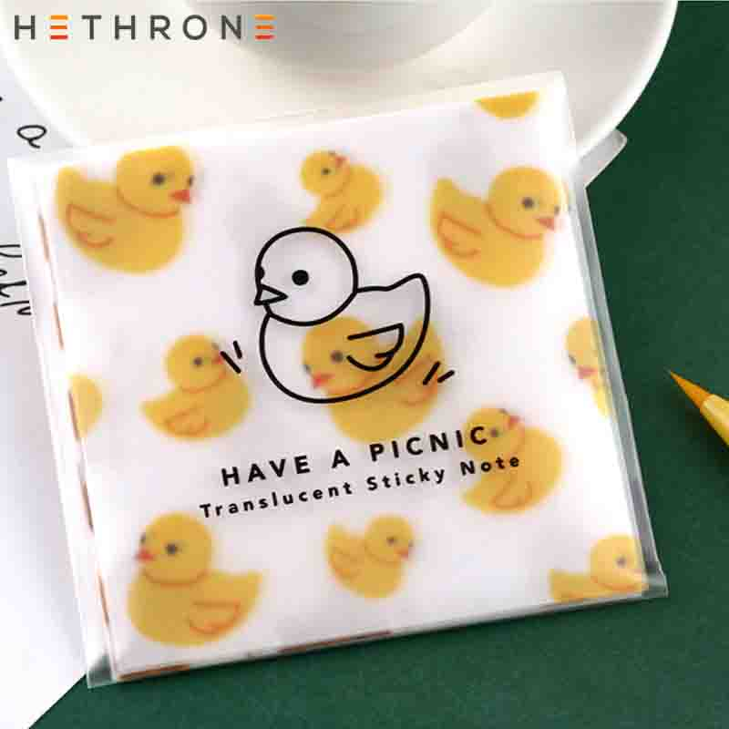 Hethrone Creative Yellow Duck Schedule Month Plan Remarks  Notebook Paper Work Efficiency Summary Recording Office Stationery