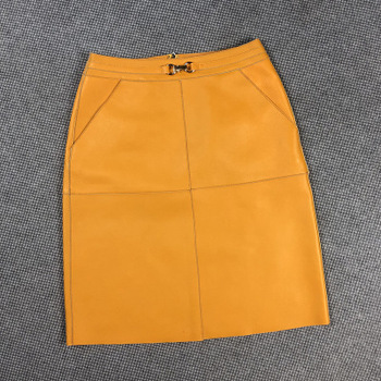 2020 Women Spring Genuine Real Sheep Leather Skirt E27 2020 women spring genuine real sheep leather pants e54