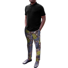 Ankara clothing men print pants fashion trousers custom made wedding wear man groom outfit